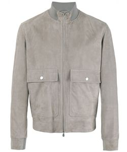 Brunello Cucinelli | Suede Jacket Small Leather/Cotton/Cupro