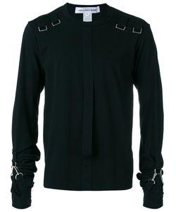 Comme Des Garcons | Comme Des Garçons Shirt Strappy Details Longsleeved T-Shirt Size Medium