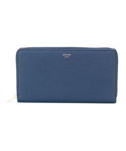 Céline   Continental Zip Wallet