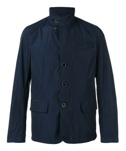 Fay | Button-Front Raincoat Large Polyester