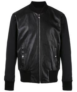 Versus | Zipped Leather Jacket 50 Lamb Skin/Polyamide/Cotton/Polyester