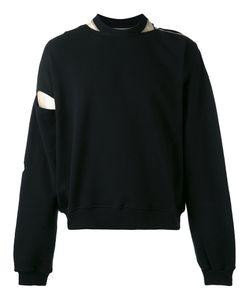 Y / PROJECT   Cut-Out Underlay Sweatshirt