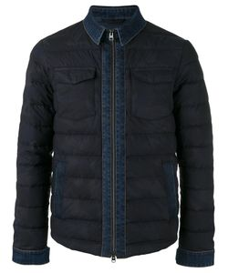 Etro | Denim Detail Down Jacket Large Cotton/Polyamide/Feather Down