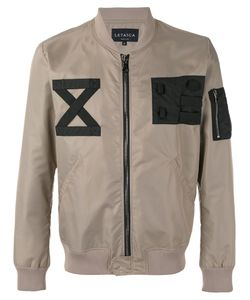 LETASCA | Patched Bomber Jacket Xxl