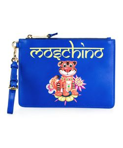 Moschino | Tiger Clutch Bag Leather