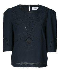 Derek Lam 10 Crosby | Broderie Anglaise Blouse Size 4