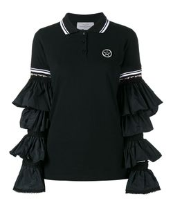 Preen By Thornton Bregazzi | Ruffle Sleeve Polo Shirt