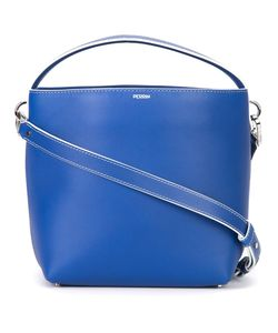 PERRIN PARIS | Zipped Shoulder Bag Calf Leather