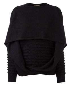 ISSEY MIYAKE VINTAGE | Kitted Draped Sweater Size Medium