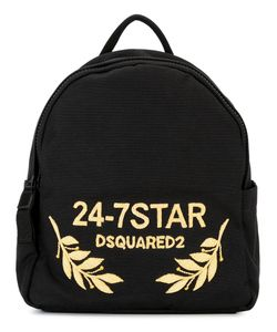 Dsquared2 | 24-7 Star Logo Backpack Copper/Cotton
