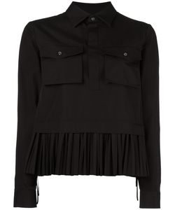 Dsquared2 | Pleated Hem Shirt Jacket 44 Cotton