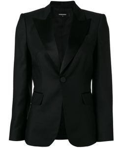 Dsquared2 | Peaked Lapel Blazer 40 Virgin Wool/Polyester/Silk