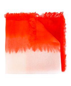 SUZUSAN | Frayed Edge Scarf Silk