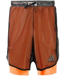 adidas x Kolor | Adidas By Kolor Laye Fishnet Sports Shorts Large