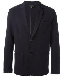 Emporio Armani | Classic Blazer Large Cotton/Spandex/Elastane