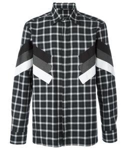 Neil Barrett | Modernist Long Sleeve Check Shirt Size 41