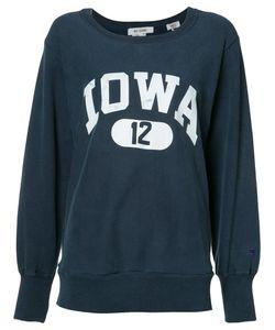 Re/Done | Oversized Printed Sweatshirt Size