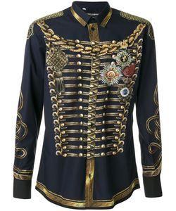 Dolce & Gabbana | Рубашка В Стиле Милитари