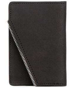 SOUTH LANE | Ribbed Detail Wallet Adult Unisex Calf Leather