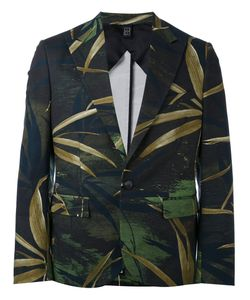 Christian Pellizzari | Printed Canvas Blazer