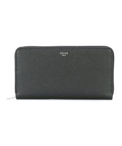 Céline   Large Zip Wallet