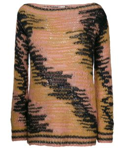 Red Valentino | Contrast Knitted Top