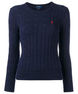 Polo Ralph Lauren   Logo Cable-Knit Sweater Size Small