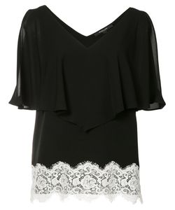 Derek Lam | Lace Detail Ruffled Blouse