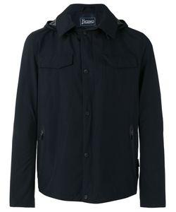 Herno | Hooded Anorak Jacket 54 Polyester/Fluorofibra