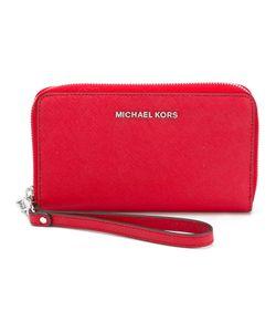 Michael Michael Kors | Logo Plaque Zipped Wallet