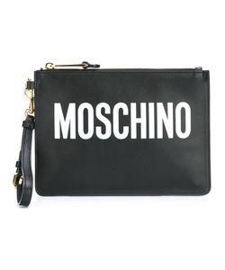 Moschino | Клатч С Принтом-Логотипом