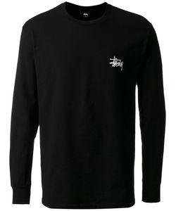 Stussy | Logo Print Longsleeved T-Shirt