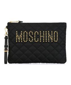 Moschino | Quilted Clutch Acrylic/Polyamide/Leather