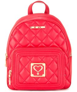 Love Moschino | Quilted Backpack Polyurethane