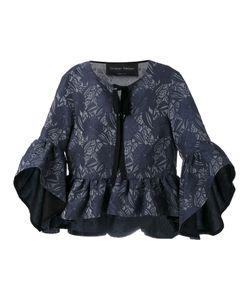 Christian Pellizzari | Ruffle Sleeve Blouse Size 40