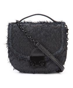Loeffler Randall | Mini Fringe Saddle Bag