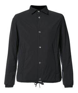 Herno | Drawstring Hem Buttoned Jacket 52 Polyamide/Spandex/Elastane