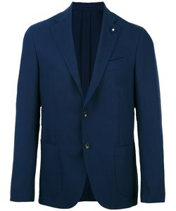 Lardini | Patch Pockets Blazer 50 Mohair/Wool/Viscose/Cupro