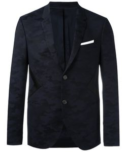 Neil Barrett | Panelled Camouflage Blazer 48 Virgin Wool/Polyurethane/Polyamide/Polyester
