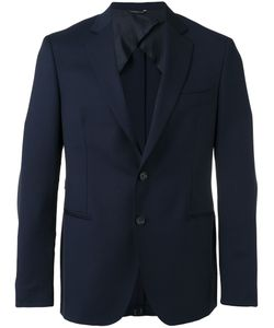 Tonello | Notched Lapel Blazer 52 Virgin Wool/Cupro