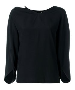 Chalayan | String Neck Blouse 46 Viscose
