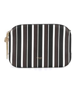 Nina Ricci | Striped Clutch Calf Leather