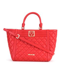 Love Moschino | Quilted Trapeze Tote