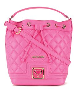 Love Moschino | Quilted Drawstring Crossbody Bag Polyurethane