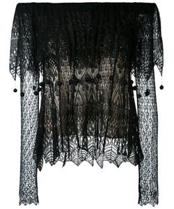Alexander McQueen | Lace Off The Shoulder Top