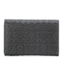 Loewe   Embossed Wallet Leather