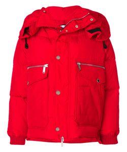 Dsquared2 | Утепленная Куртка С Капюшоном