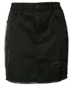 Etienne Marcel | Studded Skirt Small Cotton/Spandex/Elastane/Polyester