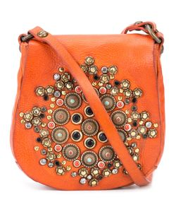Campomaggi | Embellished Saddle Crossbody Bag Leather