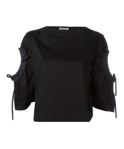 SportMax | Lace-Up Sleeves Blouse S